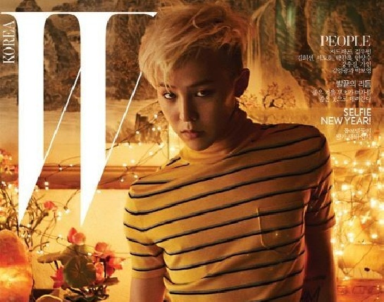 G-Dragon Poses for Three Different Covers of W Magazine
