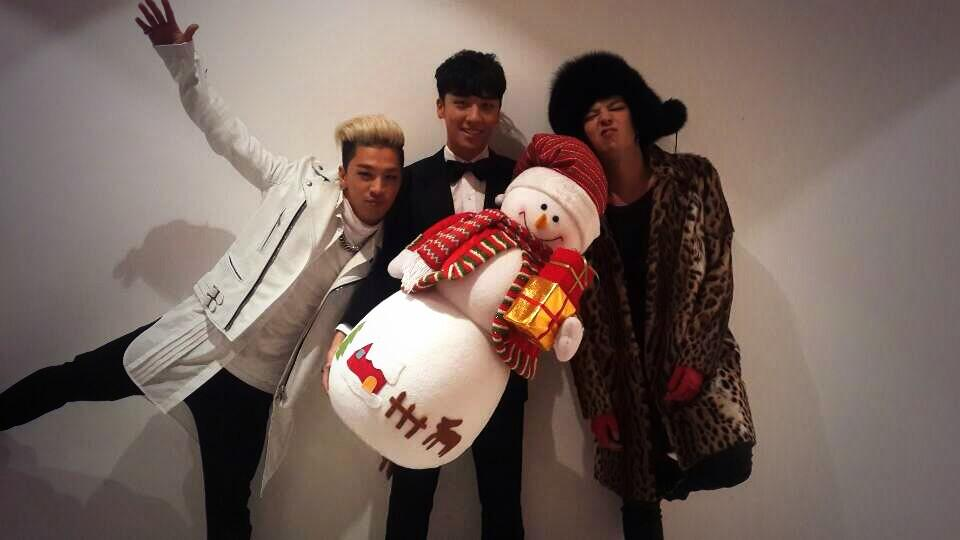 G-Dragon, Taeyang and Seungri