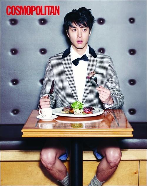 Lee Dong Gun for Cosmopolitan
