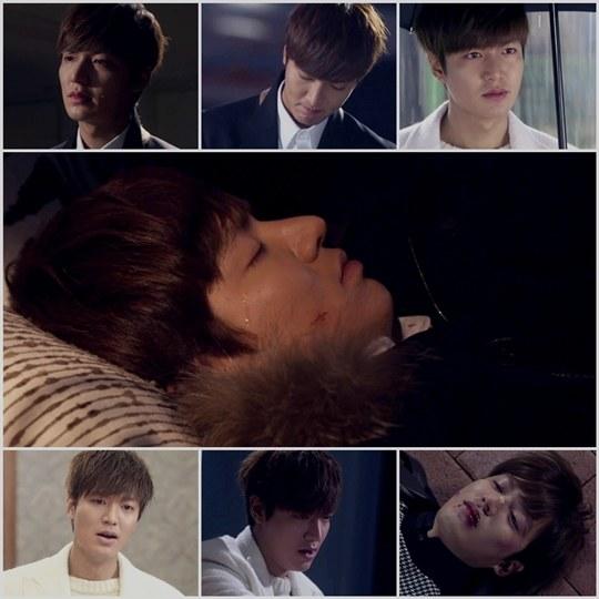 Lee Min Ho cries