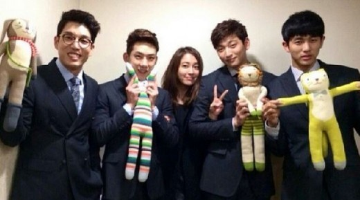 Lee Min JUng & 2AM
