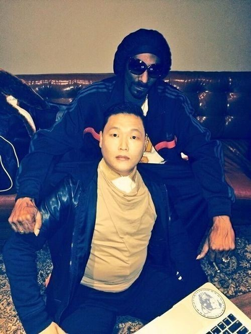 PSY snoop dogg 121213