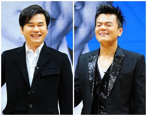 Park Jin Young & Yang Hyun Suk