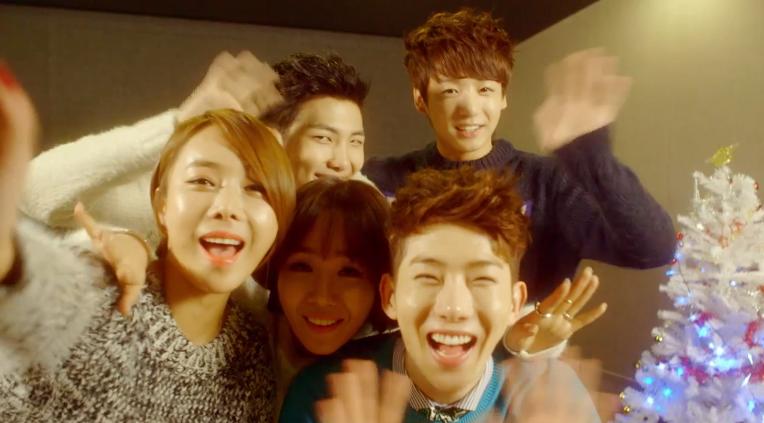 Jo Kwon, Lim Jeong Hee, Joo Hee, Rap Monster, Jungkook