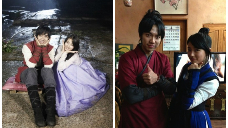 Image result for bae suzy and lee seung gi