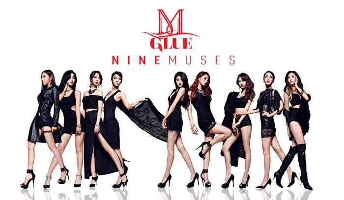 """Nine Muses - """"Glue"""""""