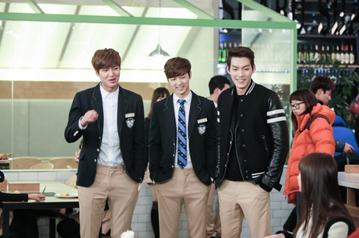 the heirs lee min ho kang min hyuk kim woo bin