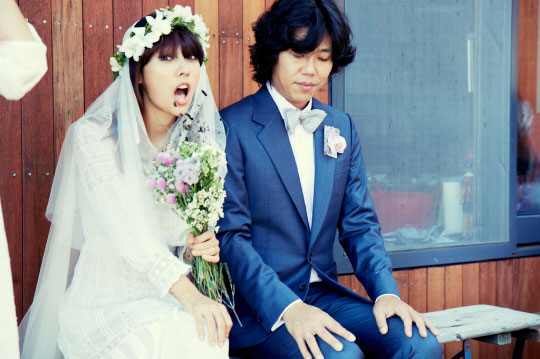 Lee Hyori and husband