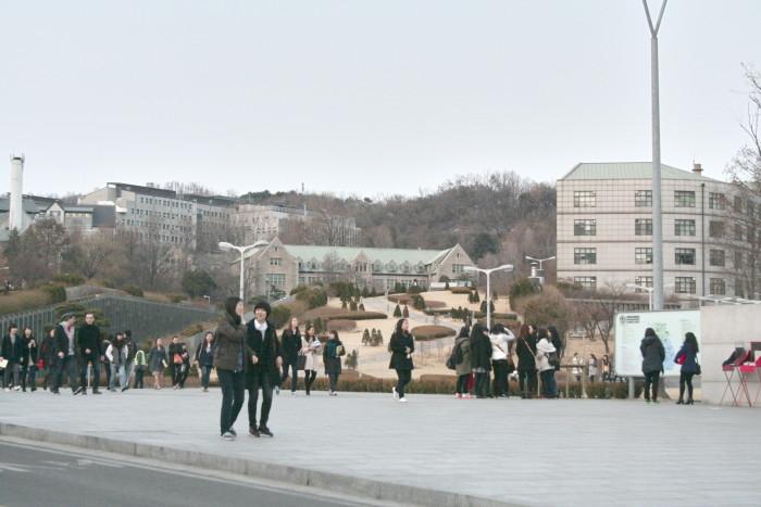 studying in korea ewha