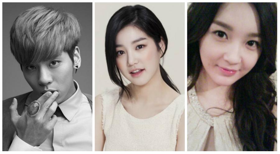 Jonghyun, Lee Yoo Bi & Kang Min Kyung