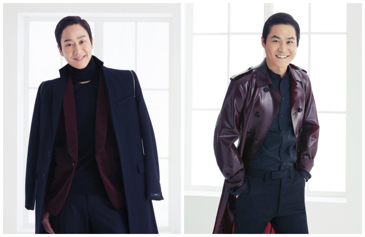 Jung Woo and Kim Sung Gyun