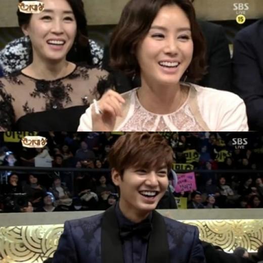 Kim Sung Ryung and Lee Min Ho