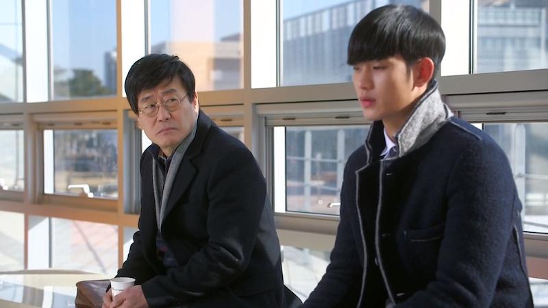 Lawyer and Min Joon