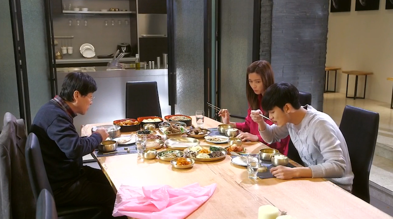 Meal with Min Joon