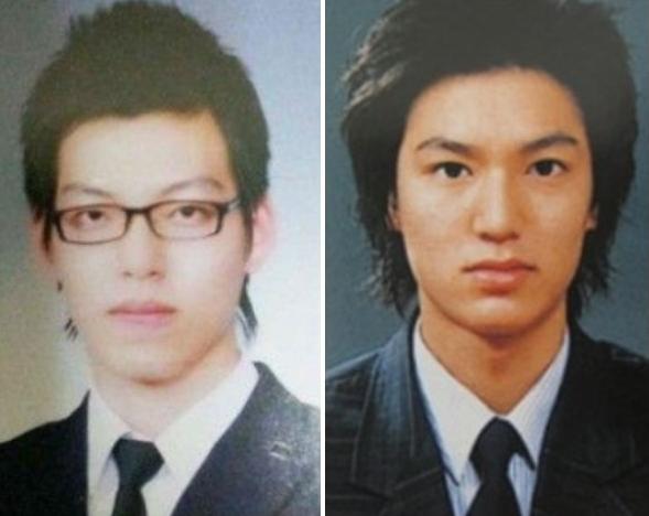 kim woo bin and lee min hos charismatic graduation photos