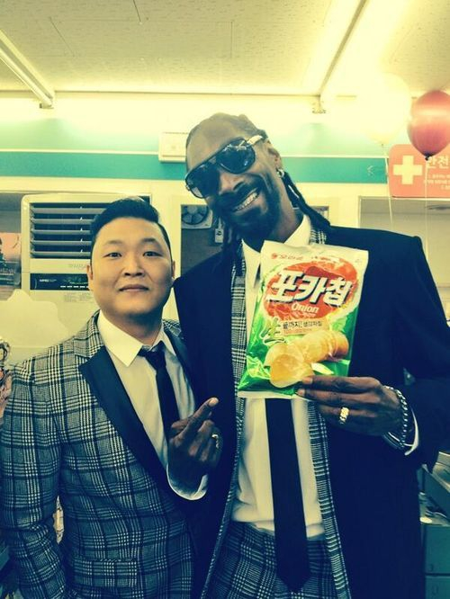 PSY and Snoop Dogg