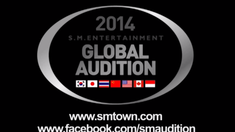 SM Entertainment to Hold 2014 Global Auditions