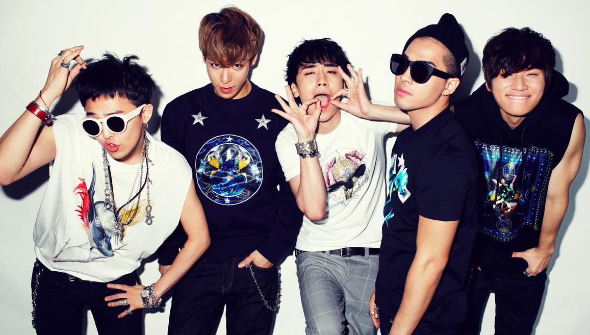 G-Dragon, T.O.P., Seungri, Taeyang, Dae Sung