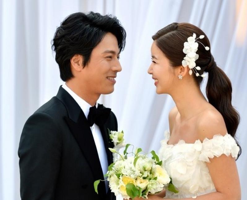 Park So Mi Wedding Pic