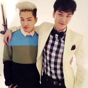 Seung Ri and Tae Yang