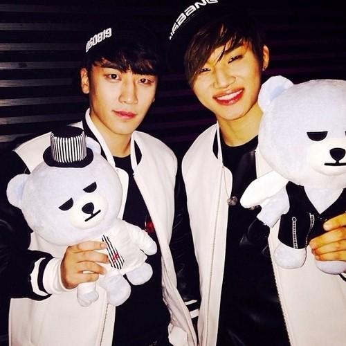 Seungri and Daesung
