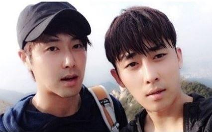 Son Ho Joon and Yunho