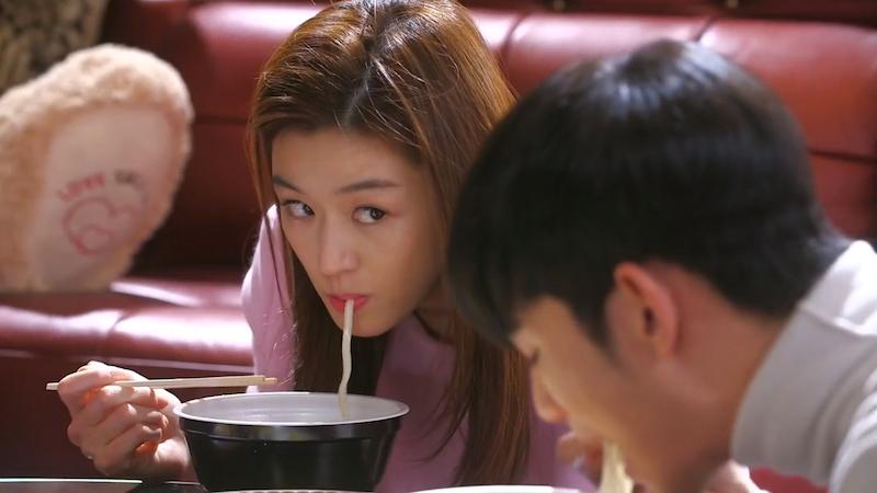 Song Yi Eating