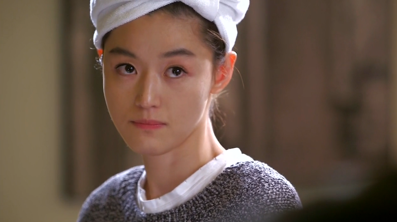 Song Yi Towel Hat
