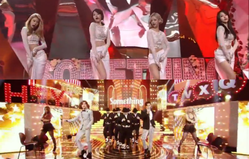 TVXQ Girl's Day inkigayo soompi