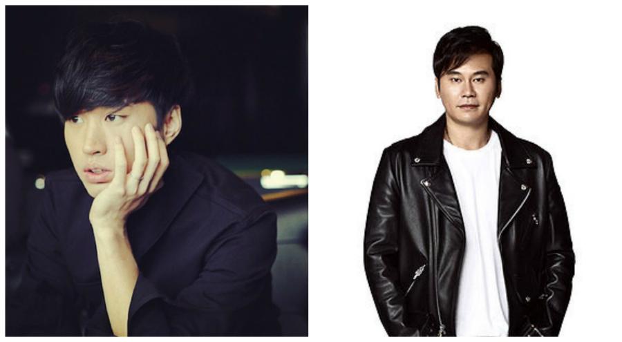 Tablo and Yang Hyun Suk