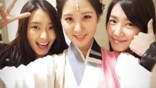Tiffany, Seohyun and Bora