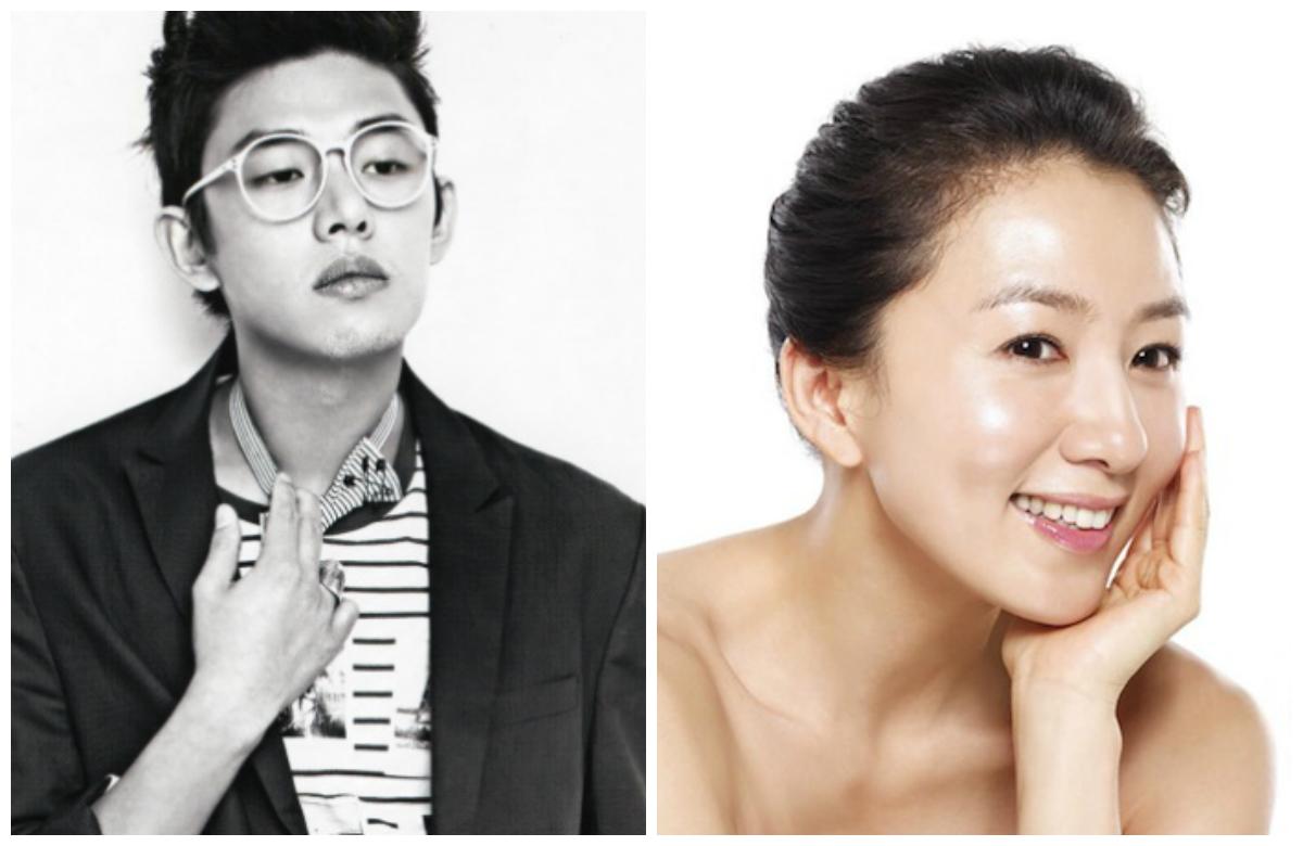 Yoo Ah In and Kim Hee Ae