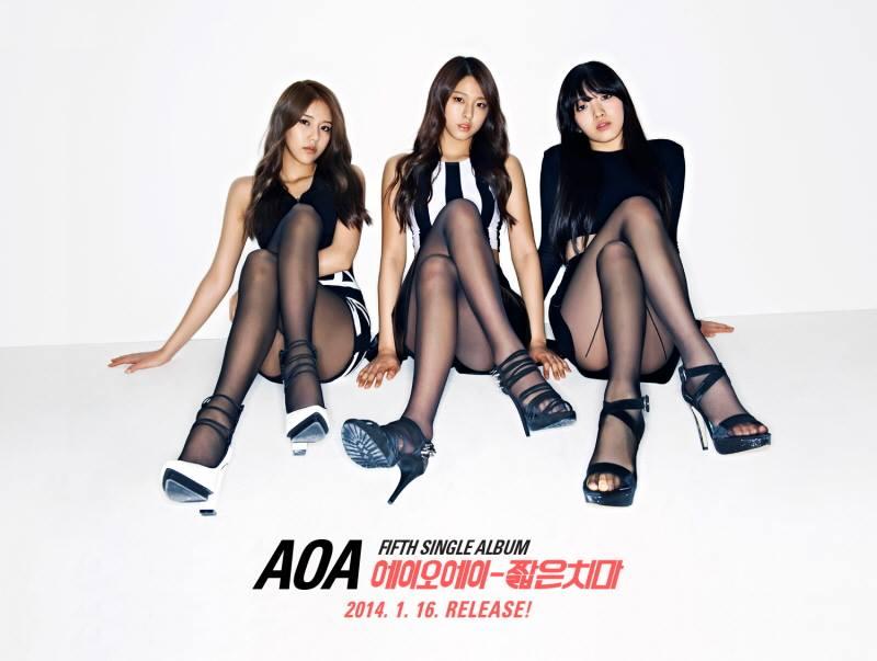 aoa miniskirt 1