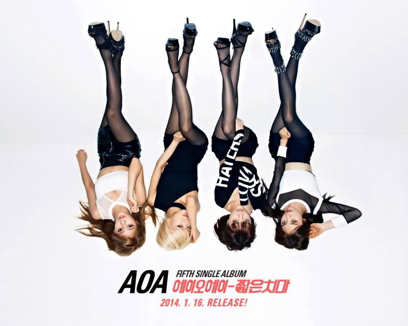 aoa miniskirt 2
