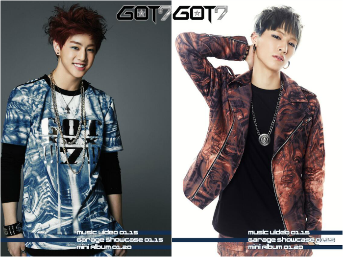 Two GOT7 Members Mark and JB Revealed through First Batch of Teaser Images