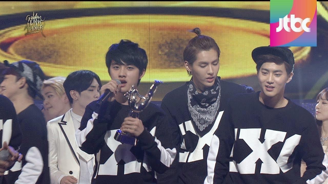 exo golden disk awards