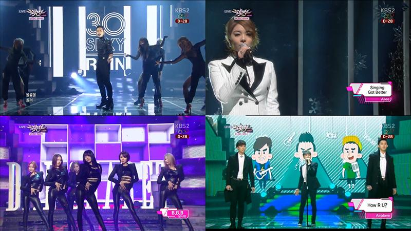 Music Bank 01.10.14 Comebacks