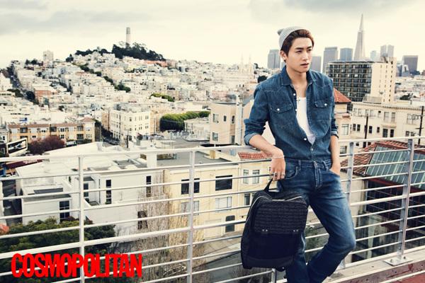 Park Hyung Shik is a San Francisco Native in Cosmopolitan Pictorial