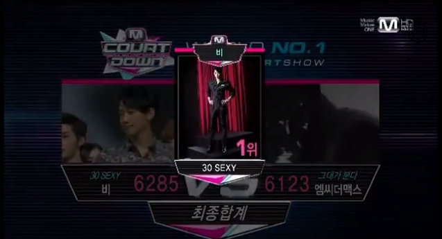 rain win mcountdown