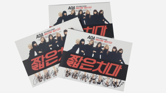 AOA Signed CDs