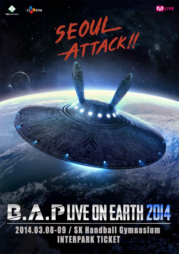 "B.A.P ""Live on Earth"""