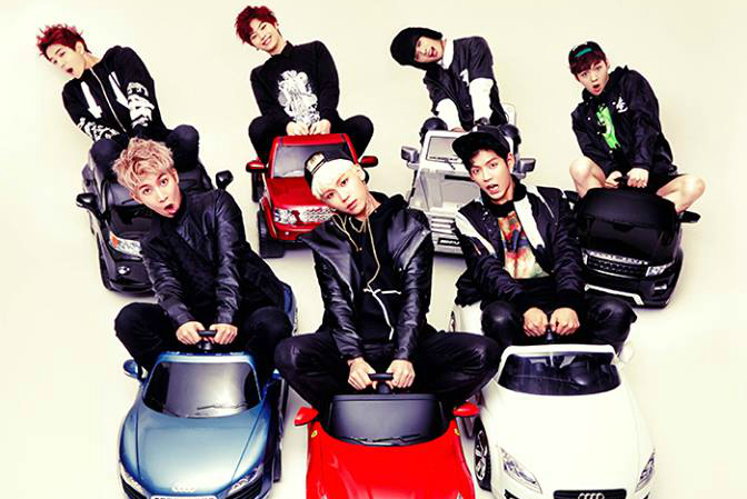 "BTOB Tops Hanteo Charts with ""Beep Beep"""