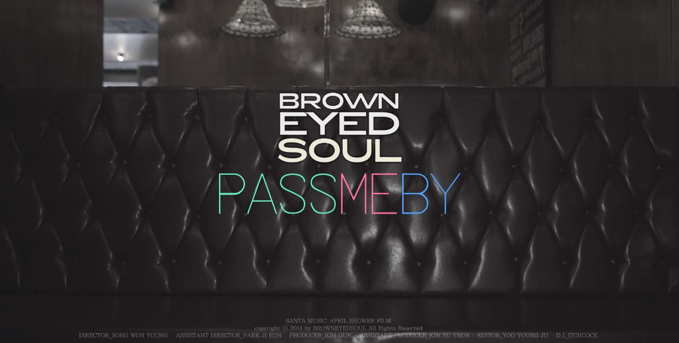 """Brown Eyed Soul """"Pass Me By"""""""