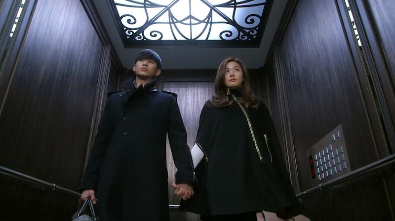 Elevator Hand Hold