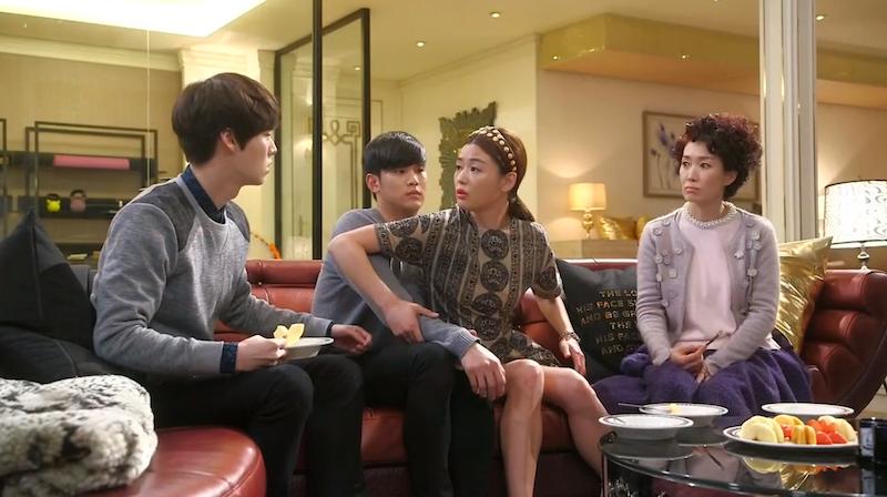 Fight Over Min Joon