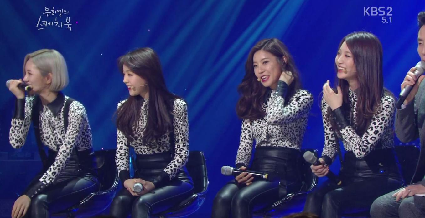 "Girls Day on ""Yoo Hee Yeol's Sketchbook"""