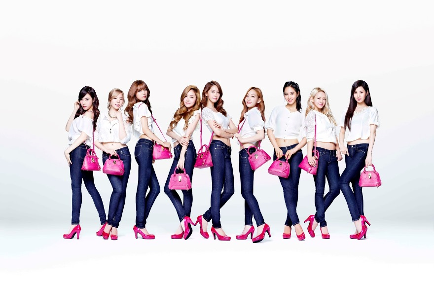 Girls' Generation in jeans - Copy