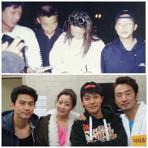 Heo Kyung Hwan and Kim Hee Sun