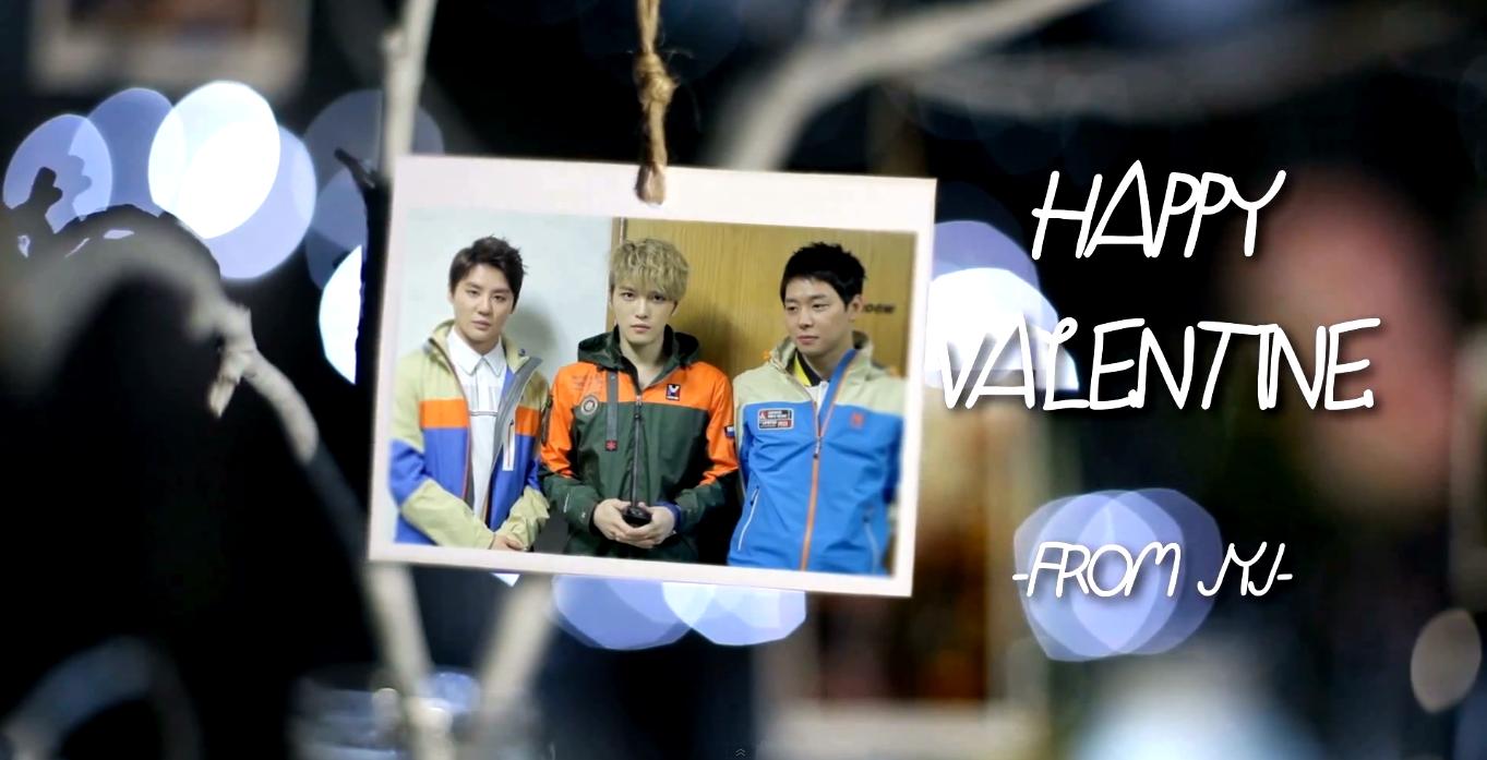 2014 Happy Valentine's Day from JYJ