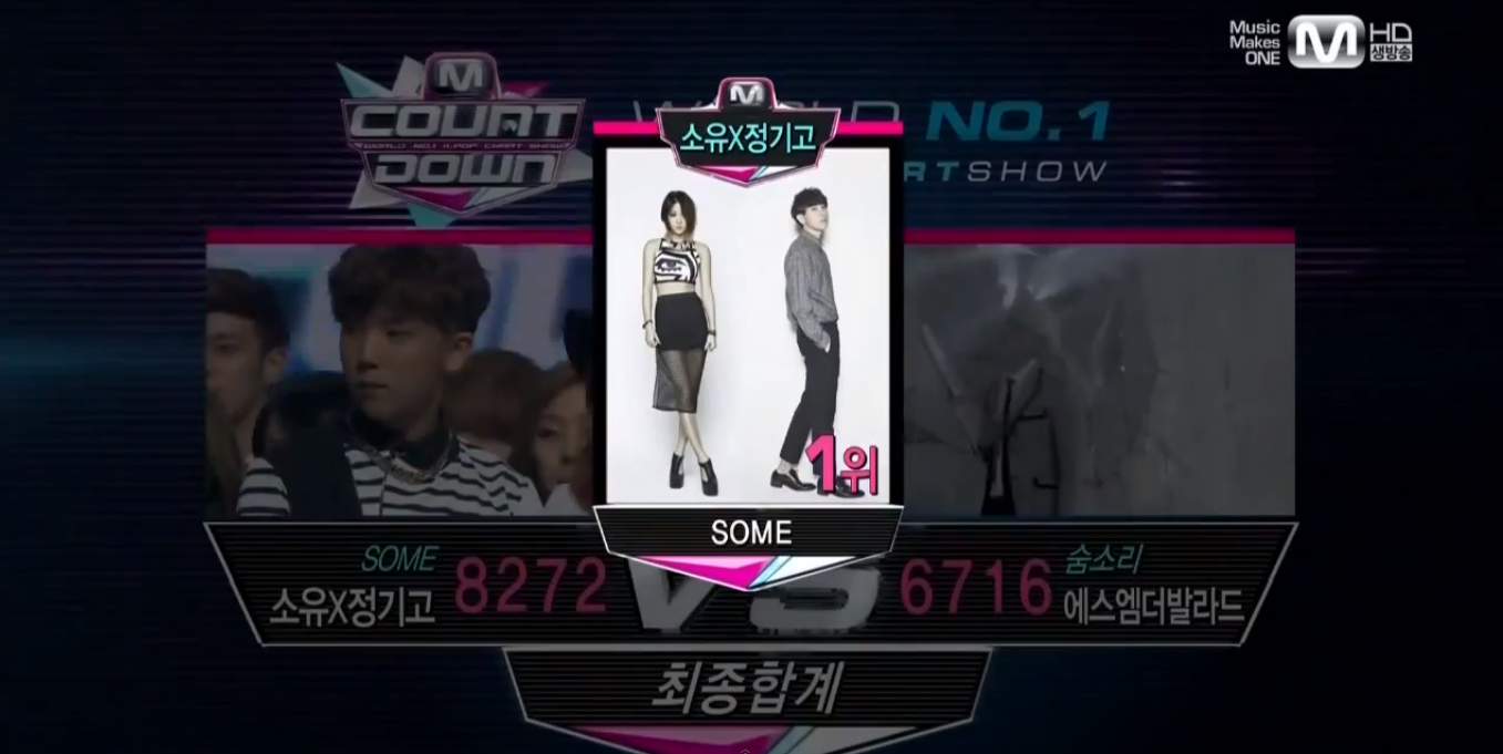M! Countdown Number 1